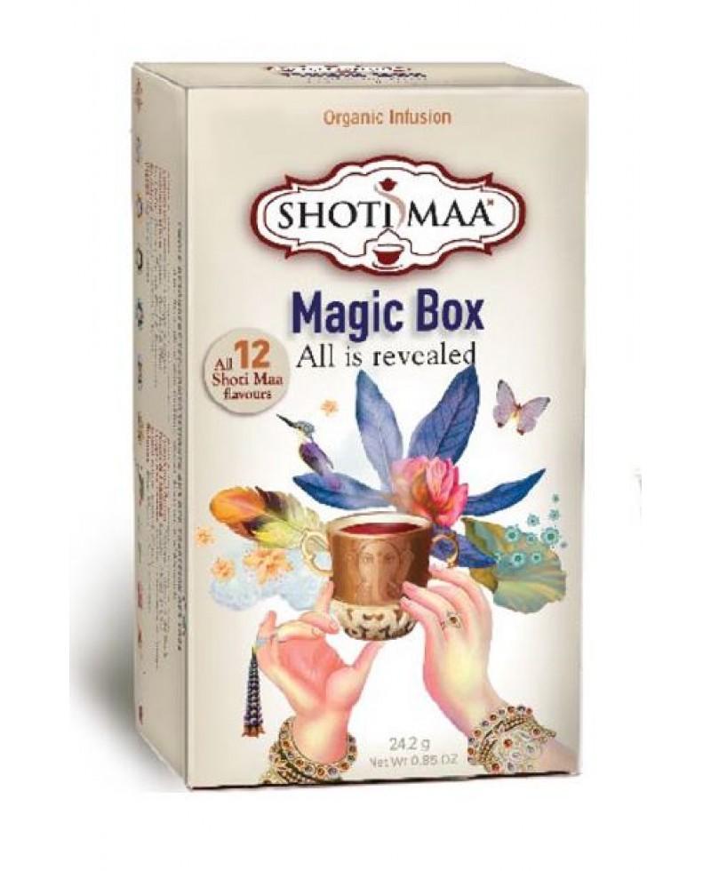 CONFEZIONE REGALO TISANE MAGIC BOX