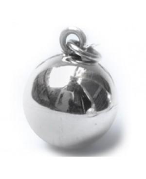 Ciondolo sfera liscia mm 20