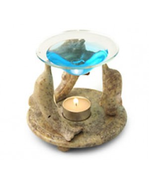 Diffusore in pietra live - Modello delfino