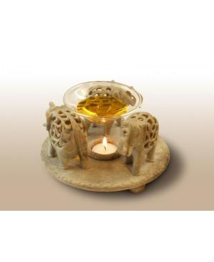 Diffusore in pietra scolpito - Modello Elefante