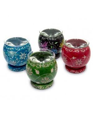 Diffusore in pietra sfera colorata