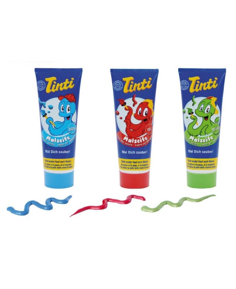 Sapone per dipingere - Set 3 tubetti 70 ml (rosso, verde, blu)