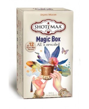 CONFEZIONE REGALO TISANE MAGIC BOX