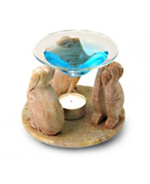 Diffusore in pietra live - Modello scimmie