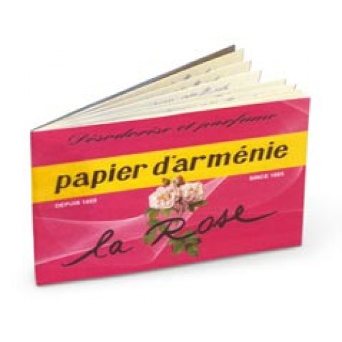 Papier d'Armenie alla Rosa